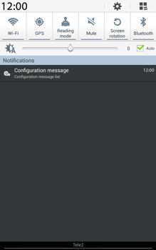 Samsung T315 Galaxy Tab 3 8-0 LTE - MMS - Automatic configuration - Step 4