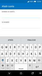 HTC One M9 - E-mail - Configurar correo electrónico - Paso 17