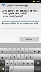 Acer Liquid E3 - E-mail - Configuration manuelle - Étape 17