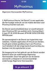 Apple iPhone 4 S iOS 9 - Applicaties - MyProximus - Stap 11