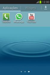 Samsung Galaxy Fame - Aplicações - Como configurar o WhatsApp -  4