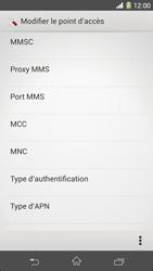 Sony C6903 Xperia Z1 - MMS - Configuration manuelle - Étape 12