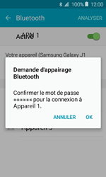 Samsung Galaxy J1 (2016) (J120) - Bluetooth - connexion Bluetooth - Étape 9