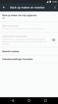 Huawei Google Nexus 6P - Toestel reset - terugzetten naar fabrieksinstellingen - Stap 5