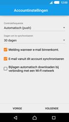Sony E2303 Xperia M4 Aqua - E-mail - Handmatig instellen - Stap 15
