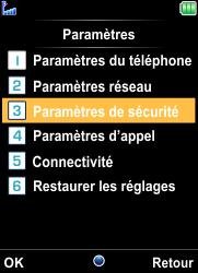Bouygues Telecom Bc 101 - Sécuriser votre mobile - Personnaliser le code PIN de votre carte SIM - Étape 4