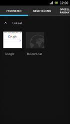 Sony Ericsson Xperia Neo met OS 4 ICS - Internet - Hoe te internetten - Stap 10