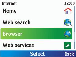 Nokia C3-00 - Internet - Internet browsing - Step 3
