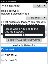 BlackBerry 9810 Torch - Network - Usage across the border - Step 9