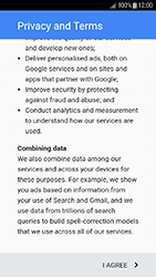 Samsung Galaxy J3 (2017) - Applications - Create an account - Step 16