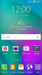 Samsung Galaxy A5 - Primeiros passos - Baixar o manual - Etapa 1