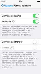 Apple iPhone 5s (iOS 8) - Internet et connexion - Activer la 4G - Étape 5