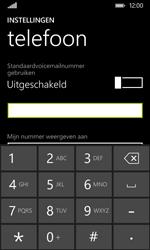 Nokia Lumia 530 - Voicemail - Handmatig instellen - Stap 7