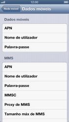 Apple iPhone iOS 6 - Internet (APN) - Como configurar a internet do seu aparelho (APN Nextel) - Etapa 8