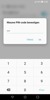 LG V30 (LG-H930) - Beveiliging en ouderlijk toezicht - Hoe wijzig ik mijn SIM PIN-code - Stap 13