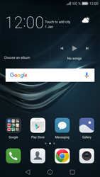 Huawei P9 - Network - Manually select a network - Step 1