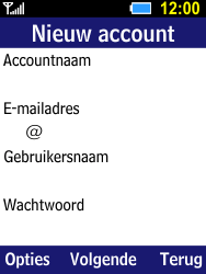 Samsung Xcover 550 (B550H) - E-mail - Account instellen (POP3 zonder SMTP-verificatie) - Stap 6