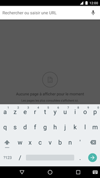Huawei Google Nexus 6P - Internet - navigation sur Internet - Étape 7