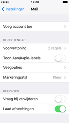 Apple iPhone 5 iOS 10 - E-mail - handmatig instellen (yahoo) - Stap 4