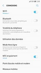 Samsung G920F Galaxy S6 - Android Nougat - Réseau - Activer 4G/LTE - Étape 5