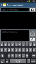 Samsung Galaxy S4 Mini - Contact, Appels, SMS/MMS - Envoyer un SMS - Étape 5