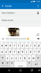 HTC One M9 - Mensajería - Escribir y enviar un mensaje multimedia - Paso 18