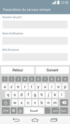 LG D855 G3 - E-mails - Ajouter ou modifier un compte e-mail - Étape 10