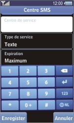 Samsung S8500 Wave - SMS - configuration manuelle - Étape 8