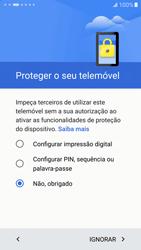 Samsung Galaxy S7 - Primeiros passos - Como ligar o telemóvel pela primeira vez -  16