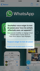 Apple iPhone 6 iOS 9 - WhatsApp - Télécharger WhatsApp - Étape 11