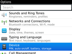 BlackBerry 9900 Bold Touch - Settings - Configuration message received - Step 4