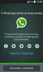 Samsung Galaxy Core II - Aplicações - Como configurar o WhatsApp -  5