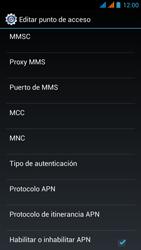 Wiko Stairway - Mensajería - Configurar el equipo para mensajes multimedia - Paso 15