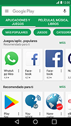 LG K10 (2017) - Aplicaciones - Descargar aplicaciones - Paso 5