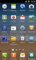 Samsung I8160 Galaxy Ace II - E-mail - E-mails verzenden - Stap 3