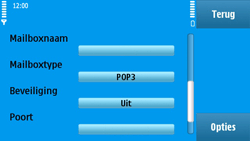 Nokia N97 - E-mail - Handmatig instellen - Stap 26
