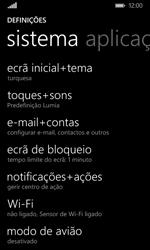 Microsoft Lumia 435 - Email - Adicionar conta de email -  4
