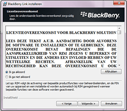 BlackBerry Passport - Software - PC-software installeren - Stap 6