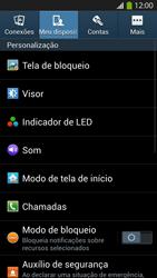 Samsung I9500 Galaxy S IV - Chamadas - Como bloquear chamadas de um número específico - Etapa 5