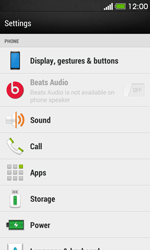 HTC Desire 500 - Voicemail - Manual configuration - Step 4