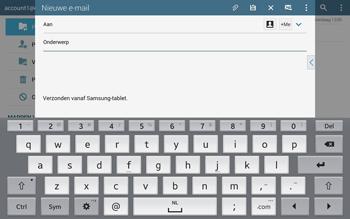 Samsung Galaxy Tab S 10.5 4G (SM-T805) - E-mail - Hoe te versturen - Stap 5