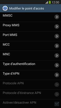 Samsung N9005 Galaxy Note III LTE - Internet - Configuration manuelle - Étape 11