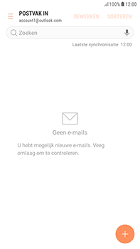 Samsung Galaxy J4 - E-mail - handmatig instellen (outlook) - Stap 13