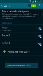Samsung G900F Galaxy S5 - Wi-Fi - Como configurar uma rede wi fi - Etapa 8