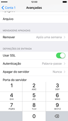 Apple iPhone 6 iOS 10 - Email - Configurar a conta de Email -  25