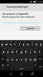 HTC Desire 320 - E-mail - Handmatig instellen - Stap 11