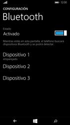 Microsoft Lumia 640 - Bluetooth - Conectar dispositivos a través de Bluetooth - Paso 8