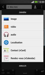 HTC Desire 500 - MMS - envoi d'images - Étape 11