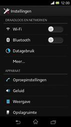 Sony C1905 Xperia M - Wifi - handmatig instellen - Stap 4