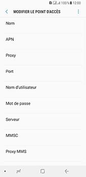 Samsung Galaxy A8 (2018) - MMS - configuration manuelle - Étape 10
